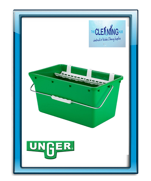 Unger 18L Bucket With Sieve & Holder
