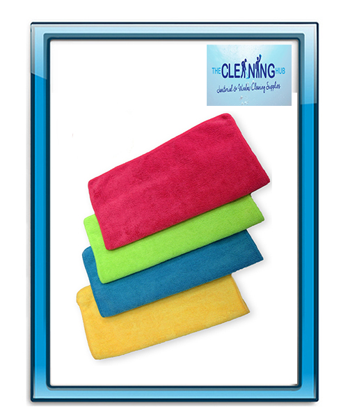 Microfibre Cloths – 10 PK