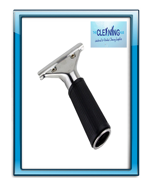 Stainless Steel Squeegee Handle With Rubber Grip