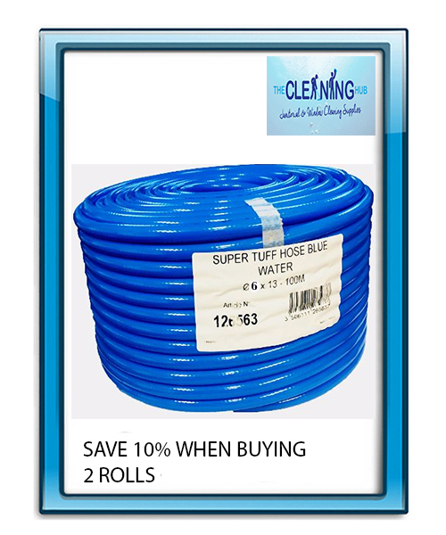 Supertuff Blue 8mm Hose 100m