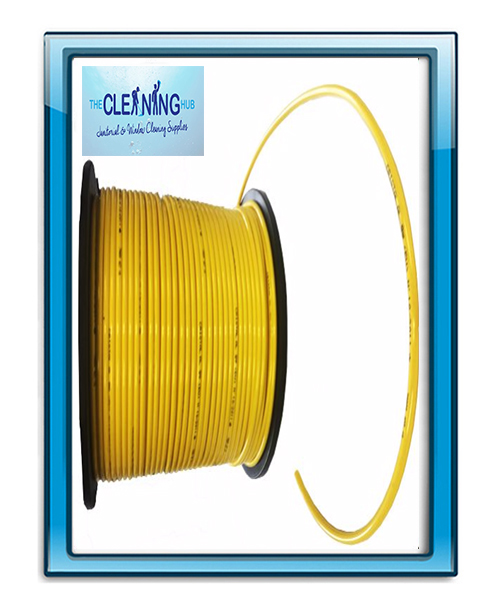PVC Pole Hose 5mm-(8mm OD) Yellow