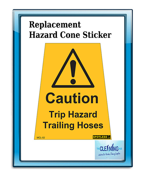 Replacement Sticker For Hazard Cone