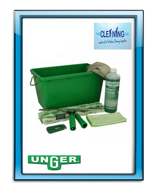Unger Ergotec Window Cleaning Kit